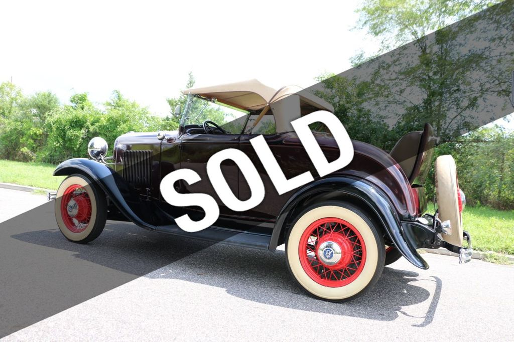 1932 Ford Model 18 Rumble Seat Roadster - 17809150 - 0
