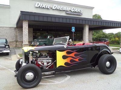 1932 Ford Roadster Highboy Roadster  - Click to see full-size photo viewer