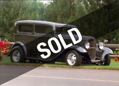 1932 Ford Tudor Hot Rod Custom For Sale Coupe