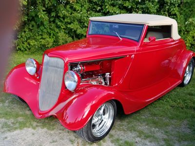1933 Ford Cabriolet Hot Rod Convertible