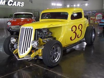 1934 Ford 3-Window Coupe SOLD  - Click to see full-size photo viewer
