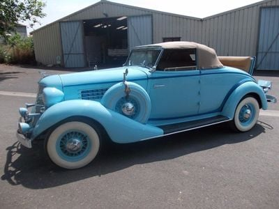 1935 Auburn 653 For Sale Convertible