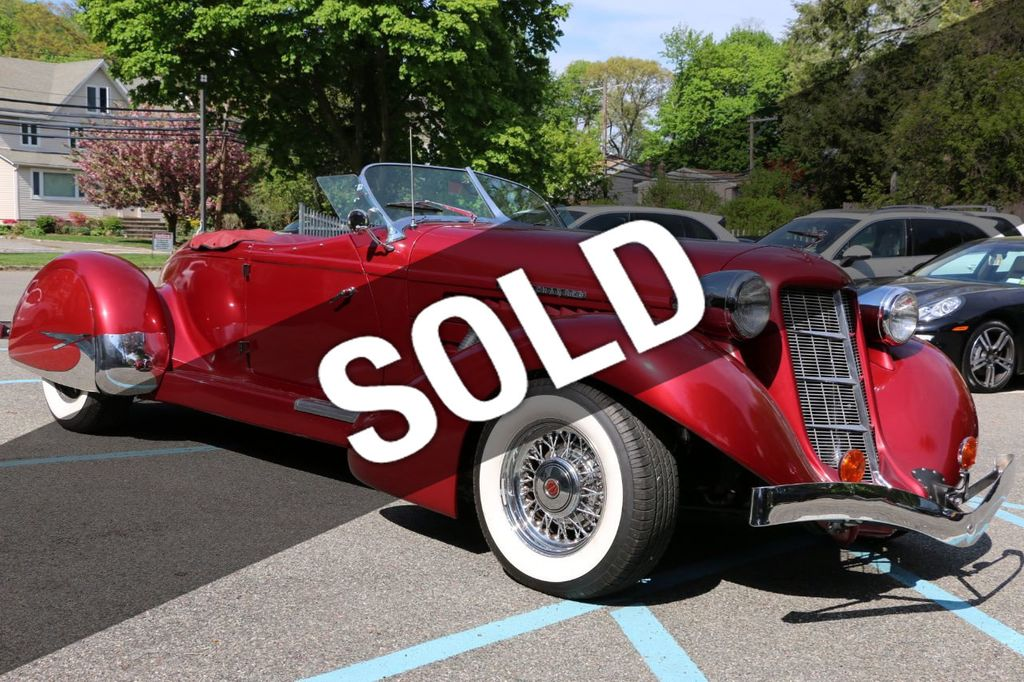 1936 Used Auburn Boattail Speedster At Webe Autos Serving Long