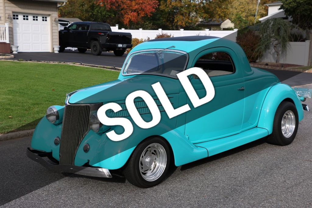 1936 Ford 3 Window Businessmans Coupe - 17015261 - 0