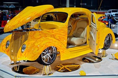 1936 Ford 3 Window Show Stopper Coupe