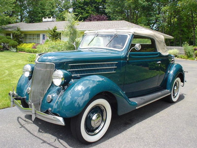 1936 FORD ROADSTER ROADSTER RUMBLE SEAT - 42988 - 0