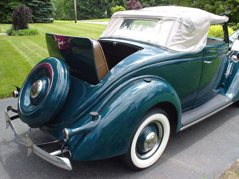 1936 FORD ROADSTER ROADSTER RUMBLE SEAT - 42988 - 10