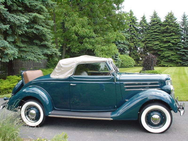 1936 FORD ROADSTER ROADSTER RUMBLE SEAT - 42988 - 27
