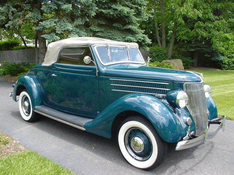 1936 FORD ROADSTER ROADSTER RUMBLE SEAT - 42988 - 3