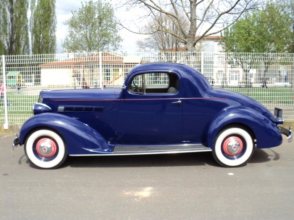 1936 Used Packard 120 Business Coupe For Sale at WeBe Autos ...