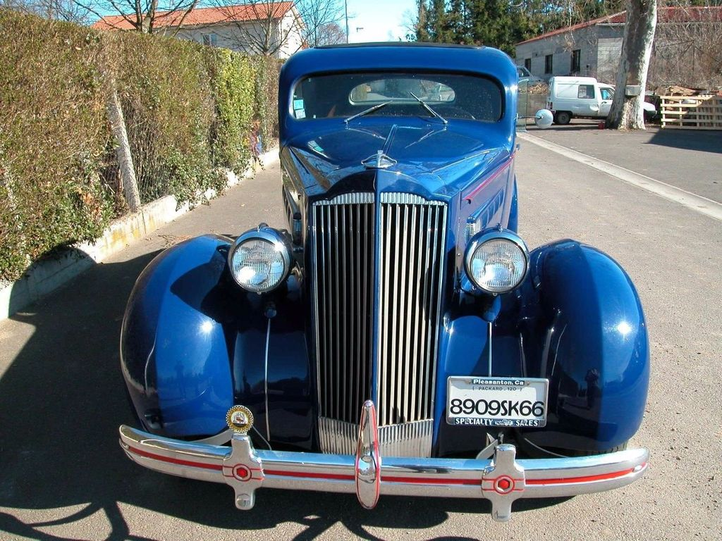 1936 Used Packard 120 Business Coupe For Sale at WeBe Autos Serving ...