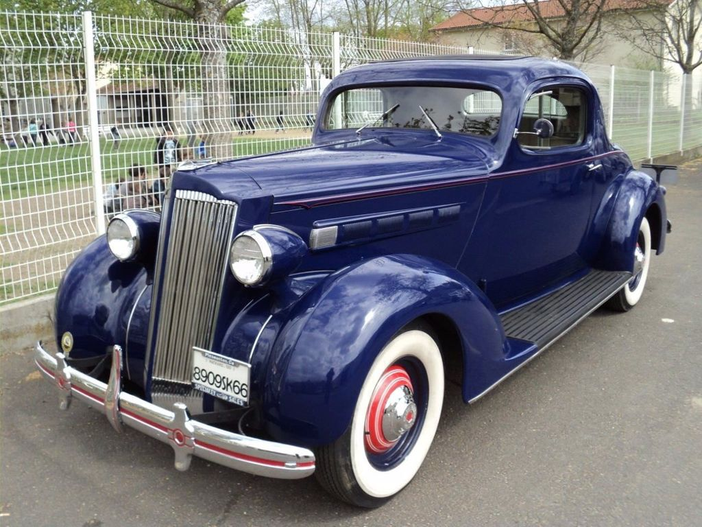 1936 Used Packard 120 Business Coupe For Sale at WeBe ...