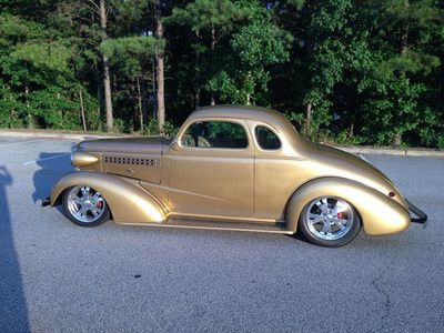 1938 Chevrolet 5 Window Coupe SOLD - LS1 Grand Touring Resto Mod Street Rod ALL STEEL  - Click to see full-size photo viewer