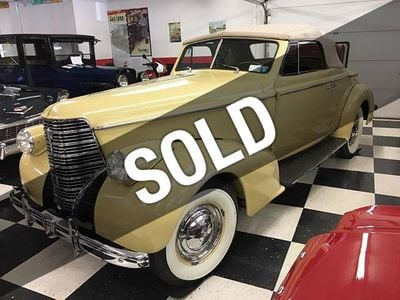 1938 Oldsmobile L38 Rumble Seat Convertible