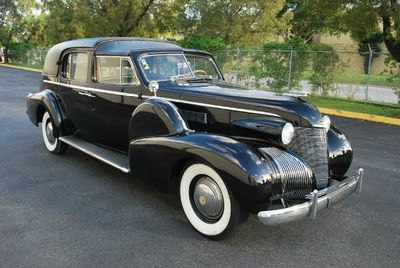 1939 Cadillac Series 75 Town Car Open Top Limo Not Specified