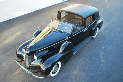 1939 Cadillac Series 75 Town Car Open Top Limo - Click to see full-size photo viewer