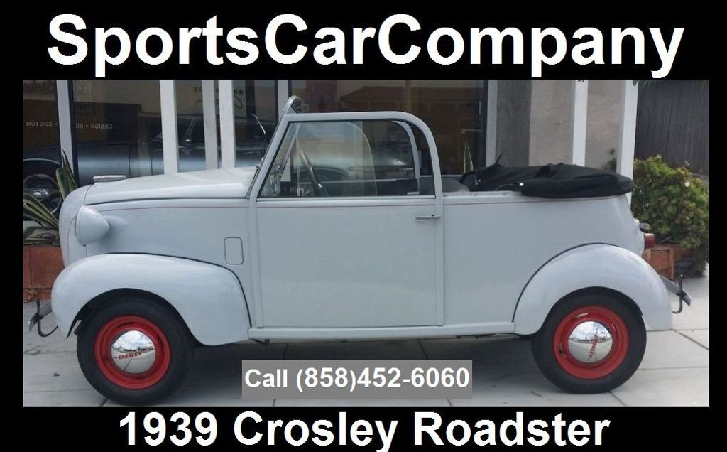 1939 CROSLEY ROADSTER 1939 CROSLEY ROADSTER - 16660863 - 0
