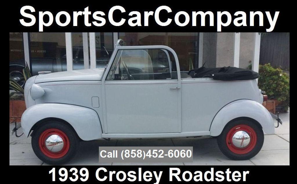 1939 CROSLEY ROADSTER 1939 CROSLEY ROADSTER - 16660863 - 0