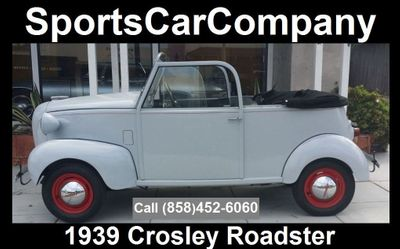 1939 CROSLEY ROADSTER 1939 CROSLEY ROADSTER - Click to see full-size photo viewer