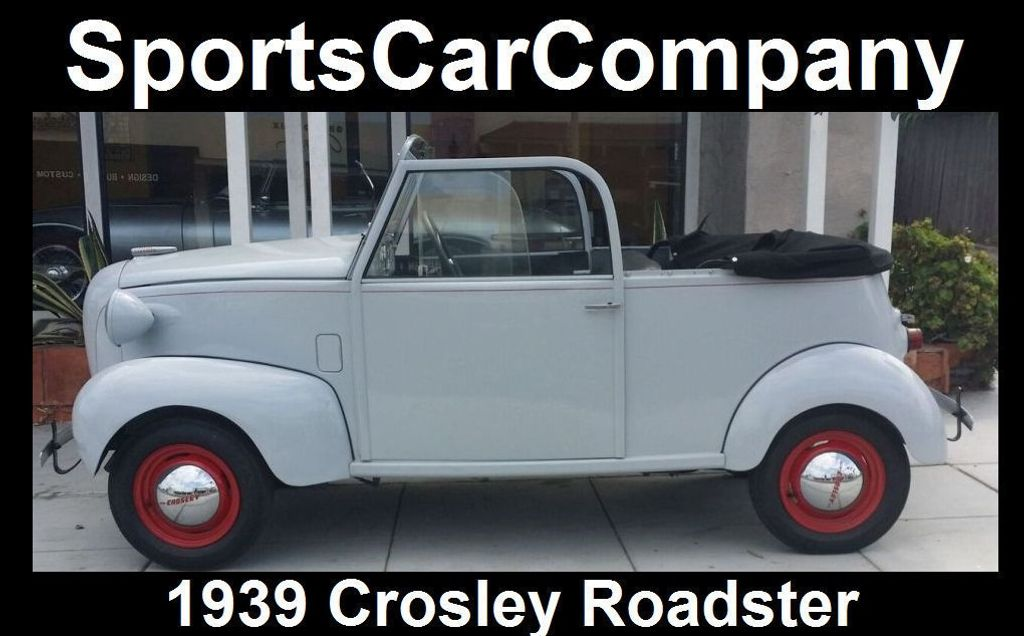 1939 CROSLEY ROADSTER 1939 CROSLEY ROADSTER - 16660863 - 7