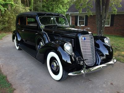 1939 Lincoln Model K SOLD Judkins Two-Window Berline 417-A, Aluminum Body Sedan