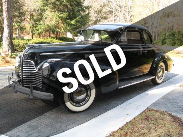 1940 Buick Special Model 46S Business Coupe For Sale