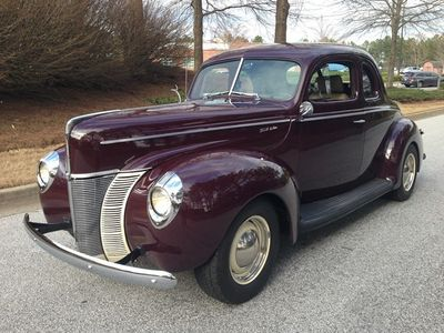 1940 Ford Coupe Deluxe Pro Touring Resto Mod 40 Ford Coupe