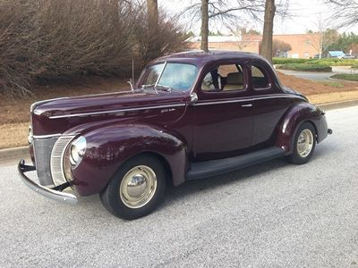 1940 Ford Coupe Deluxe Pro Touring Resto Mod 40 Ford Coupe - Click to see full-size photo viewer