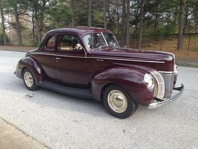 1940 Ford Coupe Deluxe SOLD - Click to see full-size photo viewer