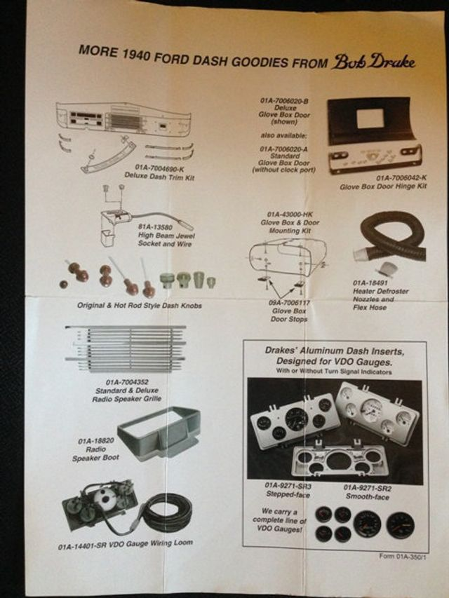 ford dash wiring diagram on 1940 ford hood open, 1940 ford coil,