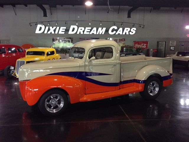 1940 Ford Pickup F-1 SOLD Pro Touring Resto Mod F-1 Custom Street Rod Flathead V8 - 14160309 - 0