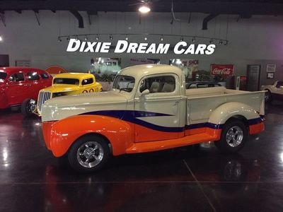 1940 Ford Pickup F-1 SOLD Pro Touring Resto Mod F-1 Custom Street Rod Flathead V8 - Click to see full-size photo viewer