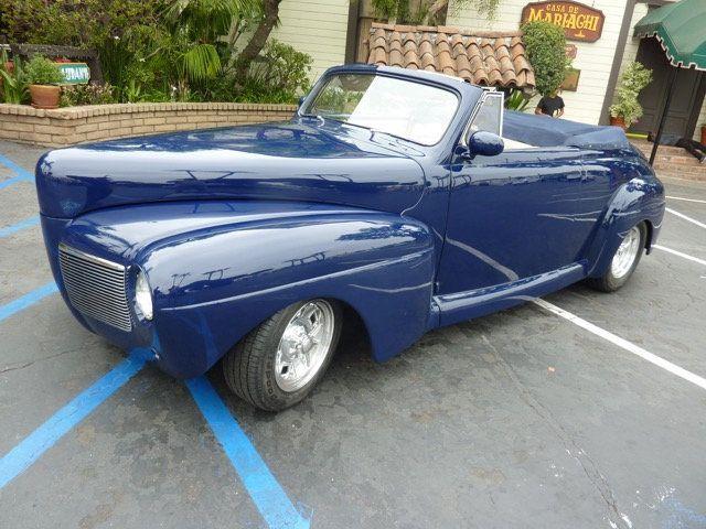 Mercury Custom Convertible