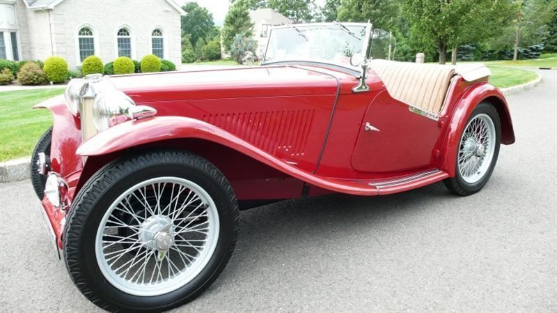 1947 MG MGTC RESTORED CONCOURS - 8858504 - 0