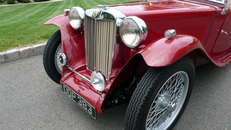 1947 MG MGTC RESTORED CONCOURS - 8858504 - 16