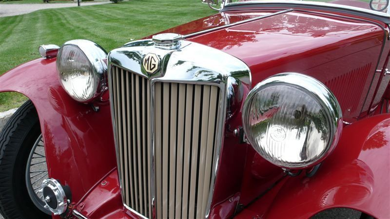 1947 MG MGTC RESTORED CONCOURS - 8858504 - 17