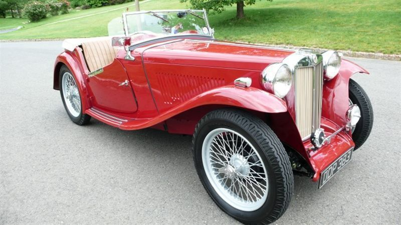 1947 MG MGTC RESTORED CONCOURS - 8858504 - 1