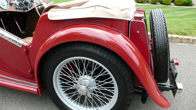 1947 MG MGTC RESTORED CONCOURS - 8858504 - 33