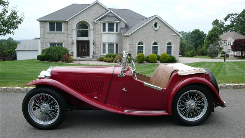 1947 MG MGTC RESTORED CONCOURS - 8858504 - 3