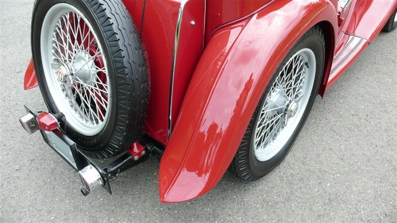 1947 MG MGTC RESTORED CONCOURS - 8858504 - 42