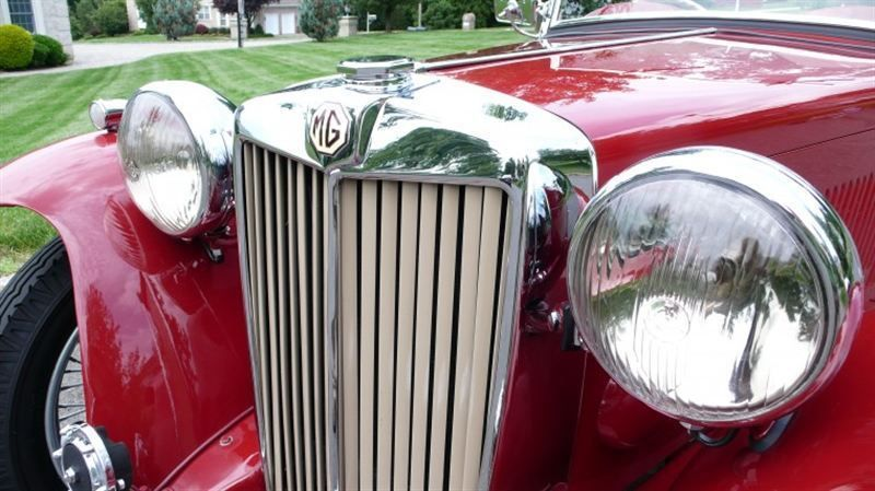 1947 MG MGTC RESTORED CONCOURS - 8858504 - 4
