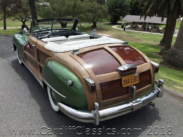 1948 Chrysler Town & Country Woody Convertible  - Click to see full-size photo viewer