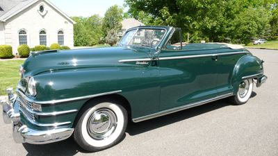 1948 Chrysler WINDSOR CONVERTIBLE - 70687196