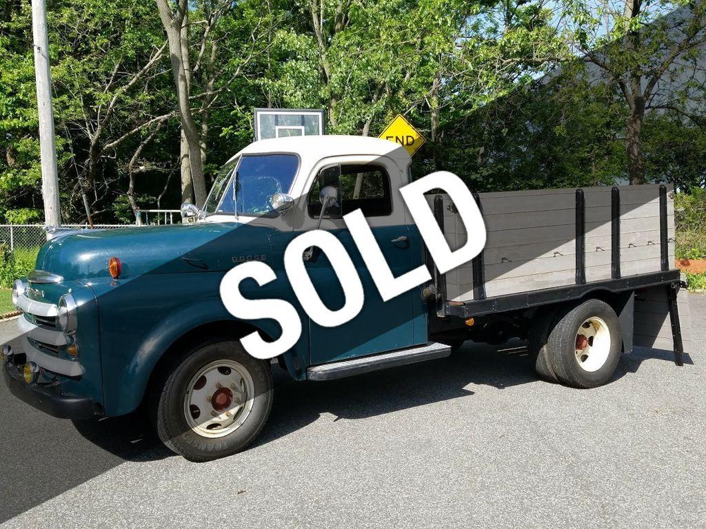 1948 Dodge B-Series Rack Body Truck - 16433399 - 0
