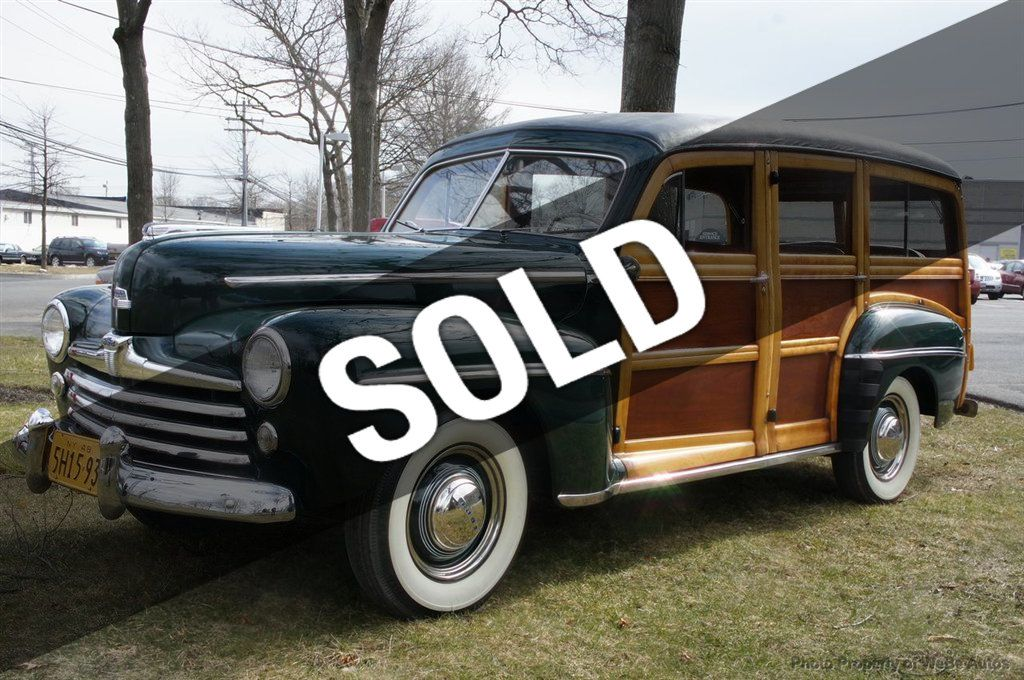 1948 Used Ford Super Deluxe Woodie Wagon At Webe Autos