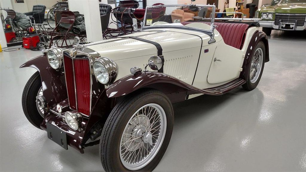 1948 MG MGTC Convertible for Sale in Ramsey, NJ on Motorcar.com