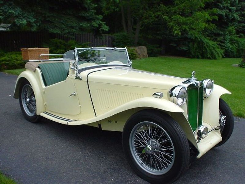 1949 MG MGTC MGTC EXU -RESTORED!! - 334529