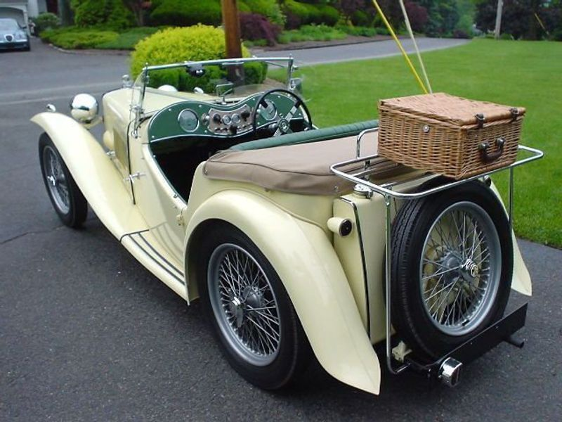 1949 MG MGTC MGTC EXU -RESTORED!! Not Specified - 9884EXU - 16