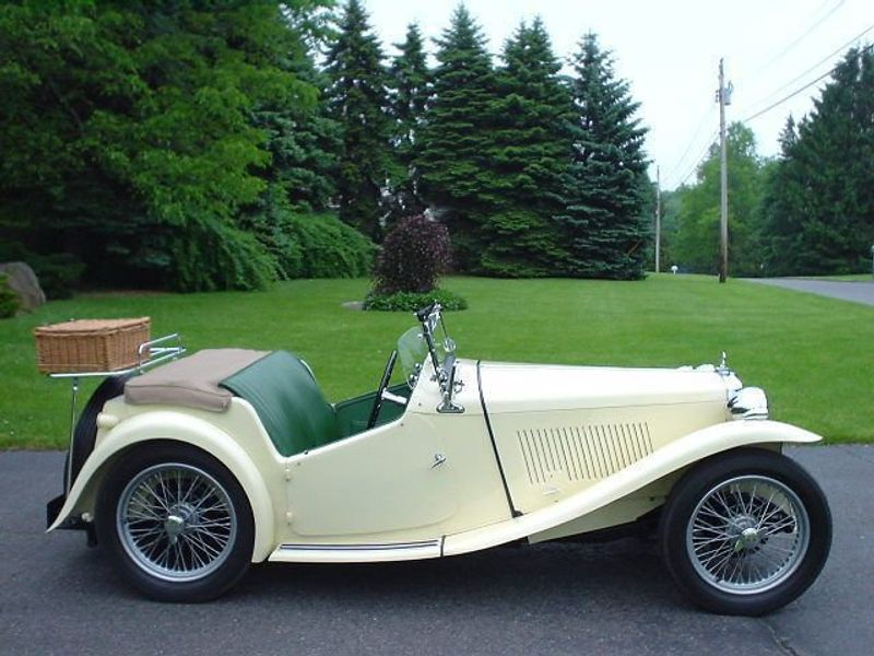 1949 MG MGTC MGTC EXU -RESTORED!! Not Specified - 9884EXU - 1