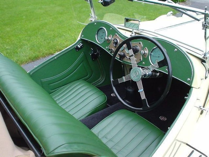 1949 MG MGTC MGTC EXU -RESTORED!! Not Specified - 9884EXU - 2